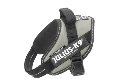 Julius-K9 IDC Powerharness Silver Size: Mini-Mini