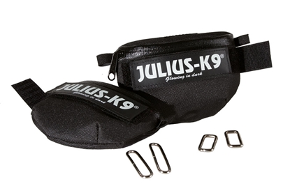 Julius-K9 IDC Universal Sidebag Black Size: Mini-4