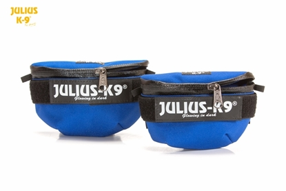 Julius-K9 IDC Universal Sidebag Blue Size: Mini-4