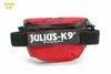 Julius-K9 IDC Universal Sidebag Red Size: Mini-4