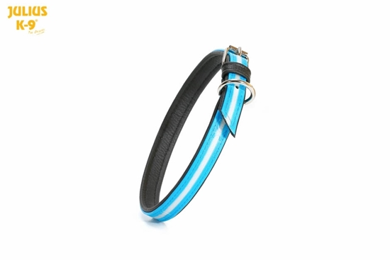 Julius-K9 IDC Lumino Collar - Aquamarine, 45cm