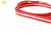 Julius-K9 IDC Lumino Leash with Handle - Red, 1m