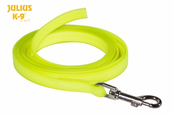 Julius-K9 IDC Lumino Leash without Handle - Neon, 1m