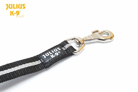 Julius-K9 IDC Tubular Webbing Leash - Black