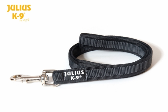 Julius-K9 Color&Gray leash - Black