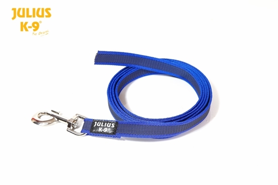 Julius-K9 Color&Gray Leash - Blue